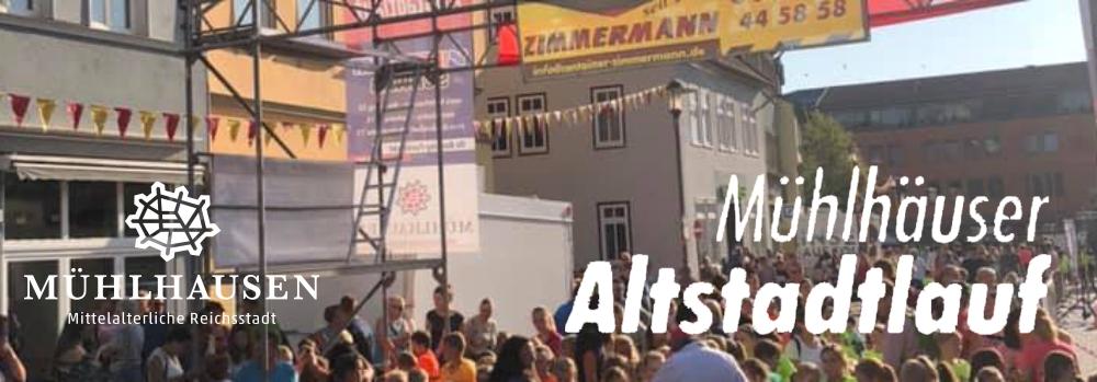 WIR UNTERSTÜTZEN den Mühlhäuser Altstadtlauf